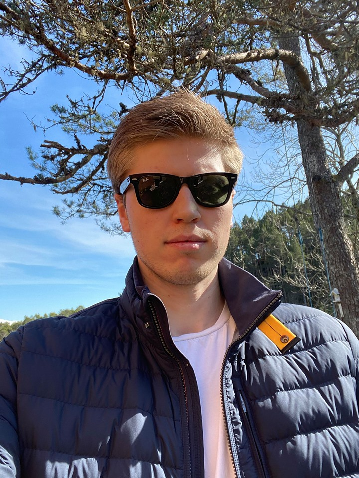 Russepresident på Spjelkavik Videregående Skole